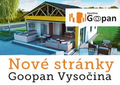 Nové stránky Goopan Vysočina