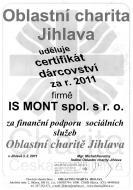Certifikát dárcovství